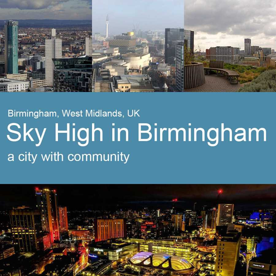 Sky high in Birmingham with the city's talented creatives